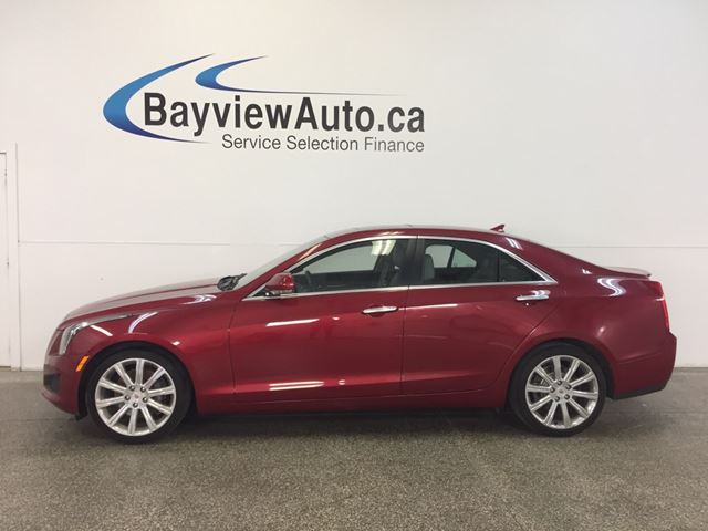 2013 CADILLAC ATS - 3.6L! AWD! REM START! ROOF! LEATHER! NAV! BOSE! in Belleville, Ontario