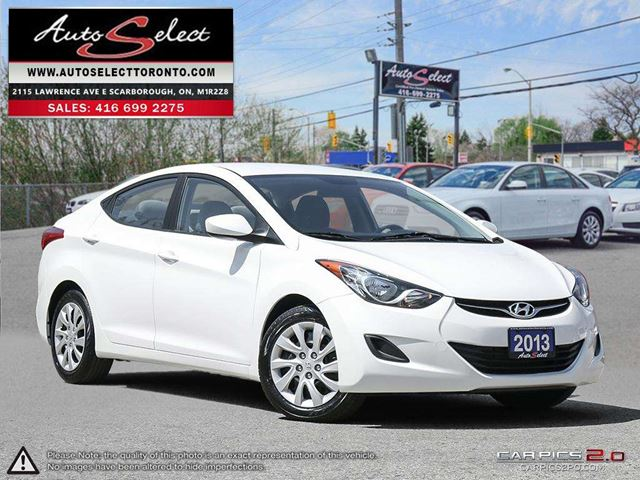 2013 Hyundai Elantra ONLY 76K! **CLEAN CARPROOF** GL MODEL in Scarborough, Ontario