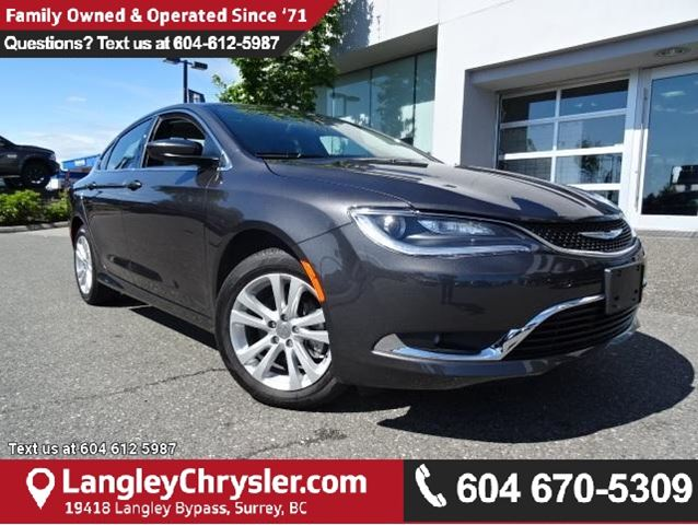 2016 CHRYSLER 200 Limited W/ 8.4