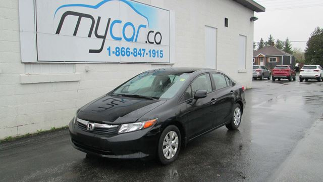 2012 HONDA CIVIC LX in Kingston, Ontario