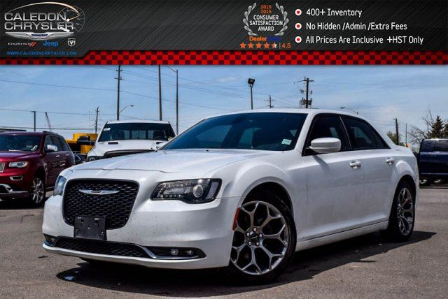2015 CHRYSLER 300 S Navi Pano Sunroof Backup Cam Bluetooth R-Start Leather 20Alloy Rims in Bolton, Ontario