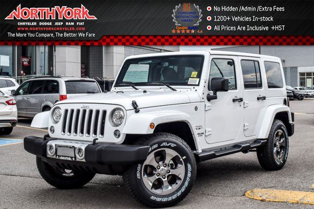 2017 Jeep Wrangler Unlimited Sahara in Thornhill, Ontario