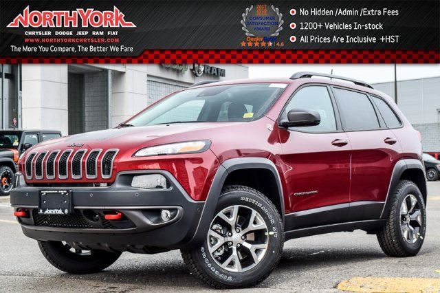 2017 Jeep Cherokee Trailhawk in Thornhill, Ontario