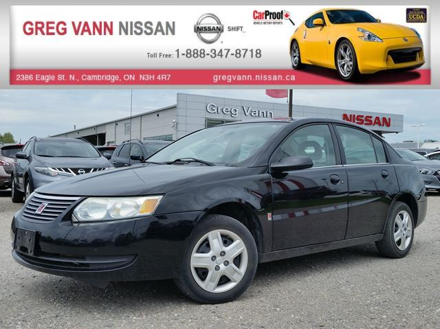 2006 Saturn ION w/keyless entry,cruise,low mileage!!! in Cambridge, Ontario