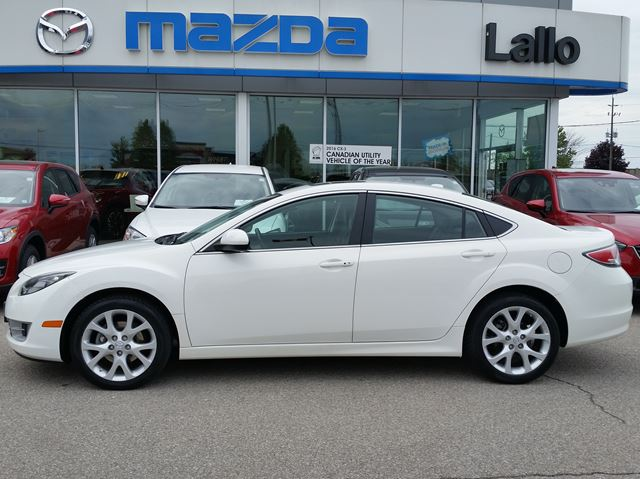 2010 MAZDA MAZDA6 GT w/leather pkge in Brantford, Ontario