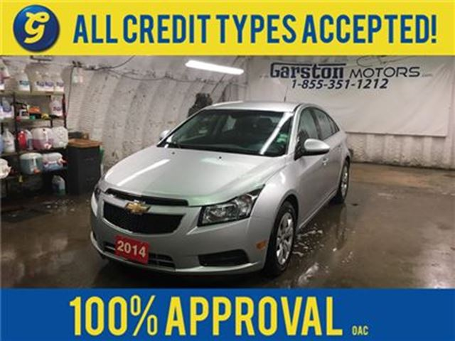 2014 Chevrolet Cruze 1LT*KEYLESS ENTRY*CRUISE CONTROL*ON STAR PHONE CON in Cambridge, Ontario
