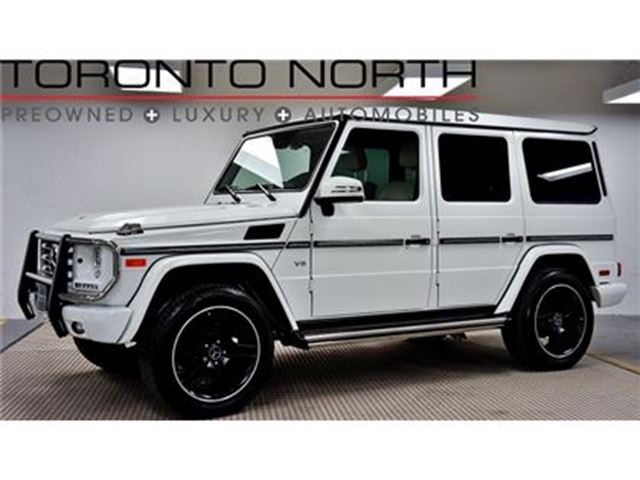 2015 Mercedes-Benz G-Class G 550 NO ACCIDENT in Toronto, Ontario