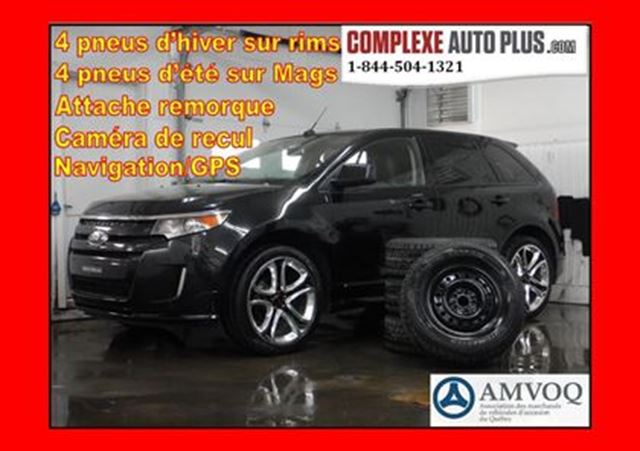 2011 Ford Edge SPORT AWD 4x4 *Mags 22po, Navi, Toit pano. in Saint-Jerome, Quebec