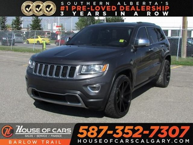 2016 Jeep Grand Cherokee Limited / Leather Seats /  Sunroof / Bluetooth in Calgary, Alberta