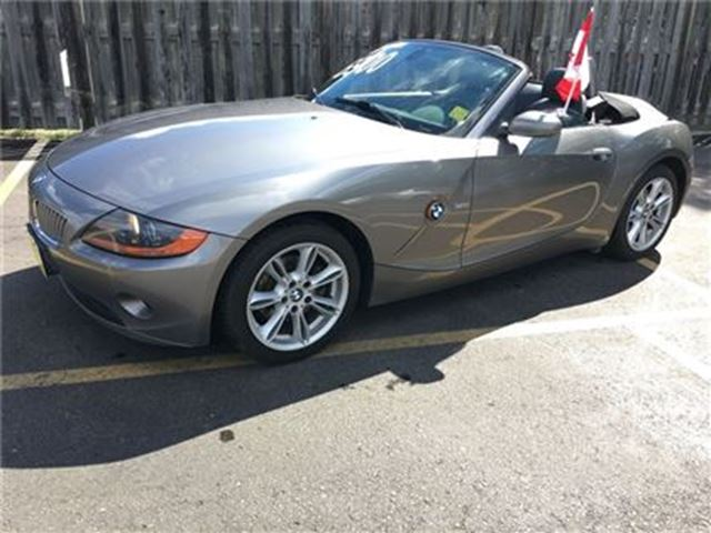 2003 BMW Z4 3.0i, Auto, Leather, Convertible, Only 88,000km in Burlington, Ontario