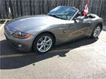 2003 BMW Z4 3.0i, Auto, Leather, Convertible, Only 88, 000km in Burlington, Ontario