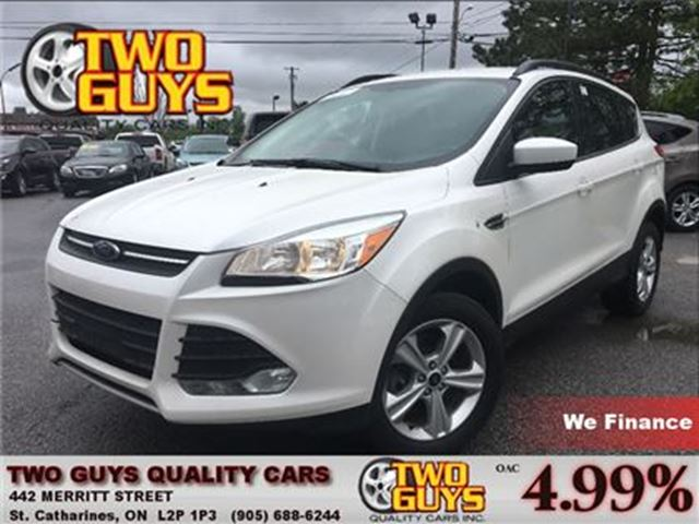 2013 FORD ESCAPE SE LEATHER NAVIGATION in St Catharines, Ontario