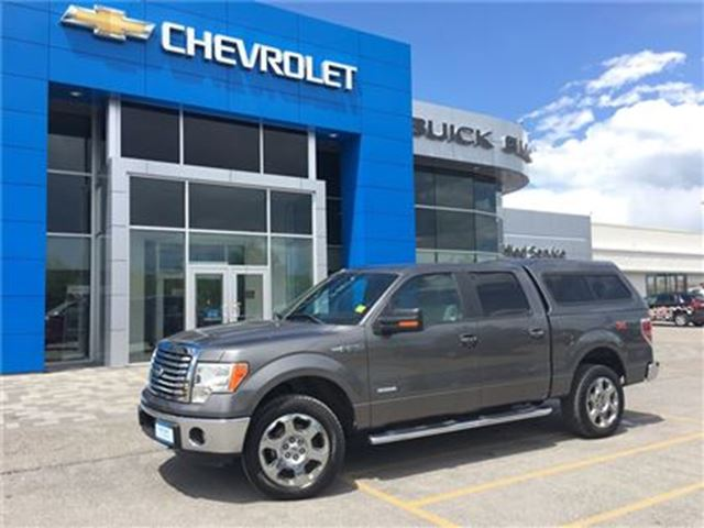 2012 Ford F-150 XLT XTR ECOBOOST 4X4 CAP CHROMES POWER SEAT!!! in Orillia, Ontario