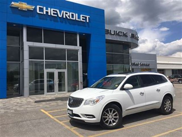 2016 Buick Enclave Leather AWD ROOF HEATED STEERING WHEEL!!! in Orillia, Ontario