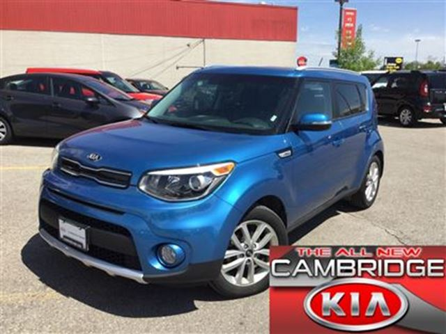 2017 KIA SOUL EX KIA CERTIFIED PRE-OWNED in Cambridge, Ontario