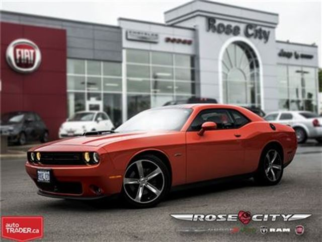 2016 Dodge Challenger R/T Shaker~Company Car~LOW KM's in Welland, Ontario