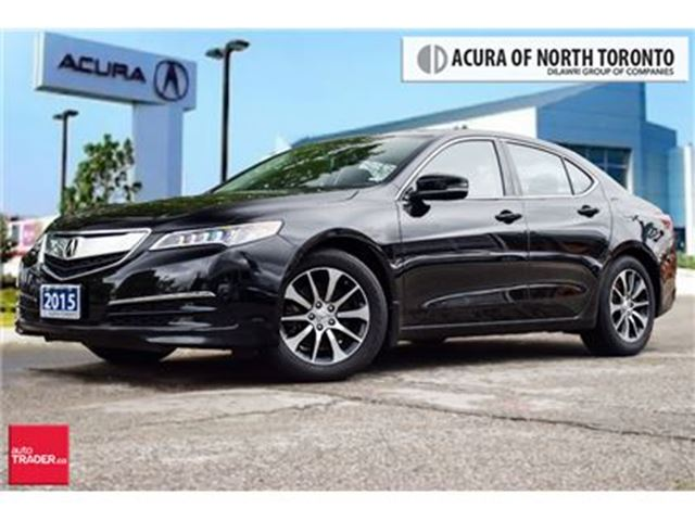 2015 Acura TLX 2.4L P-AWS CAM Bluetooth Leather Push Start in Thornhill, Ontario