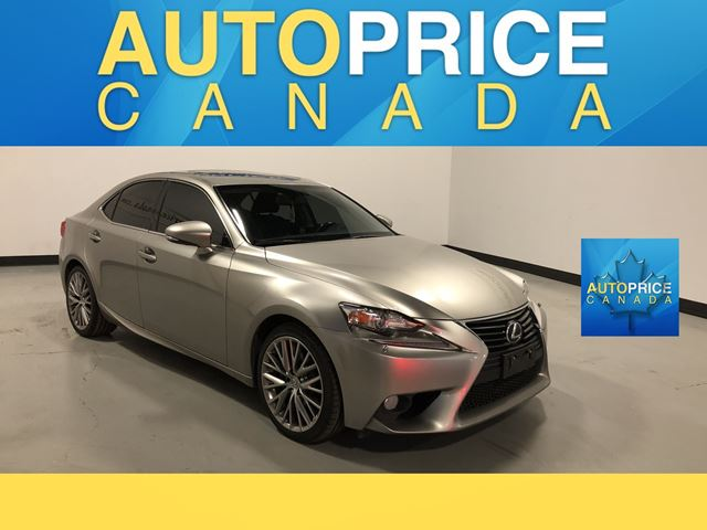 2014 Lexus IS 250 AWD MOONROOF LEATHER in Mississauga, Ontario