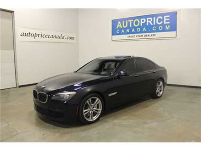 2012 BMW 7 SERIES 750 M-SPRT NIGHT VISION AND MORE in Mississauga, Ontario