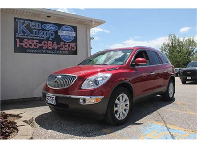 2012 BUICK ENCLAVE CXL LEATHER BLUETOOTH FWD in Essex, Ontario
