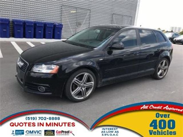 2010 Audi A3 2.0T PREMIUM   SUNROOF   LEATHER   HEATED SEATS in London, Ontario