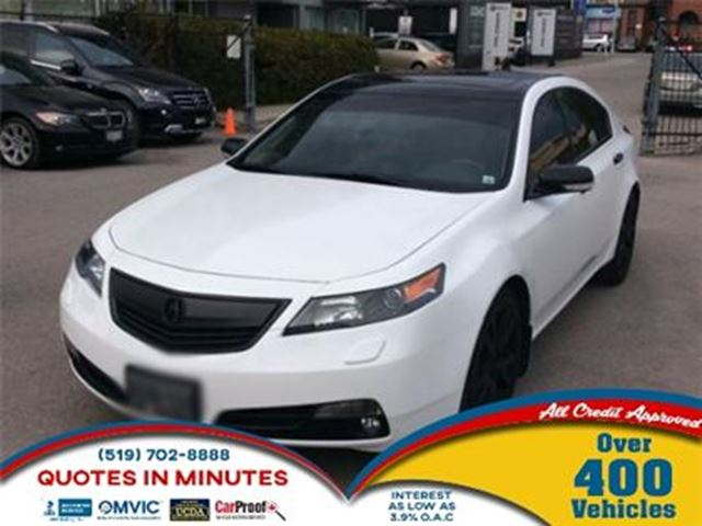 2012 Acura TL ELITE PACKAGE   AWD   SUNROOF   LEATHER   NAV in London, Ontario