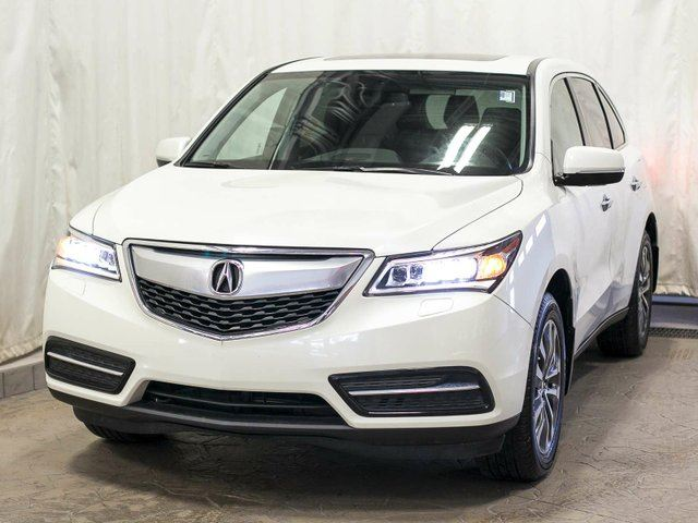 2015 ACURA MDX Technology Package SH-AWD w/ Navigation, Rear DVD, Power Tailgate, Leather, Sunroof, Alloy Wheels in Edmonton, Alberta