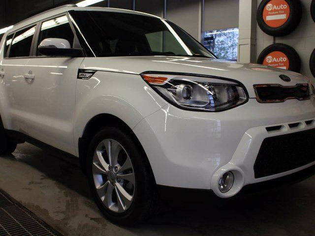 2015 KIA SOUL EX+, LOW KMS !! UVO, XM RADIO, HEATED SEATS, USB/AUX in Edmonton, Alberta