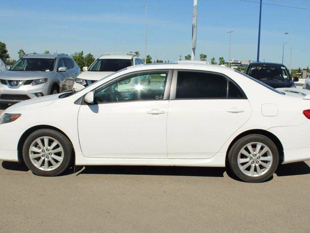 used 2010 toyota corolla s 4dr sedan edmonton. Black Bedroom Furniture Sets. Home Design Ideas