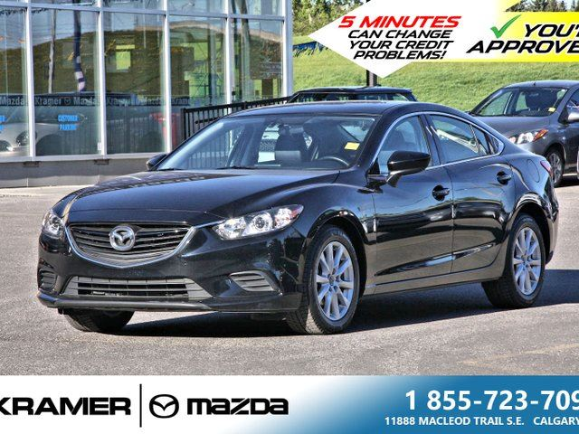2016 Mazda MAZDA6 GS with Leather & Navigation in Calgary, Alberta