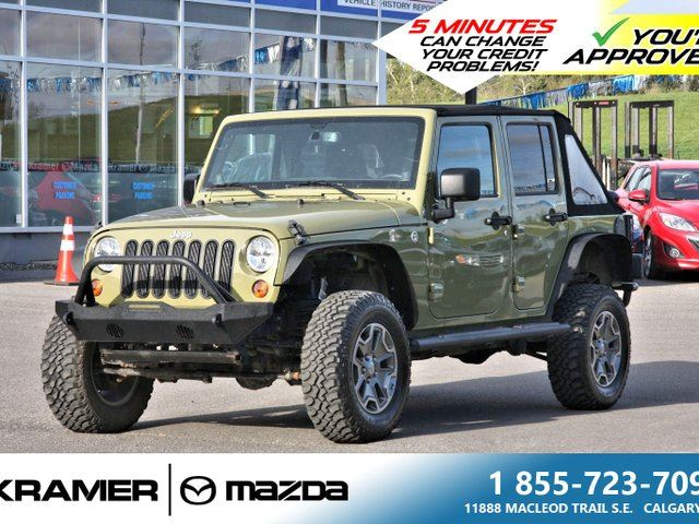 2013 Jeep Wrangler Unlimited 4X4 *UPGRADED* in Calgary, Alberta