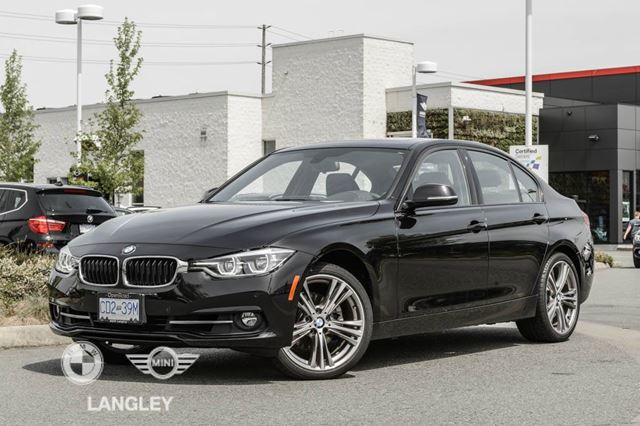 2017 BMW 3 Series Sport Line, Premium Package ENHANCED, As well a in Langley, British Columbia