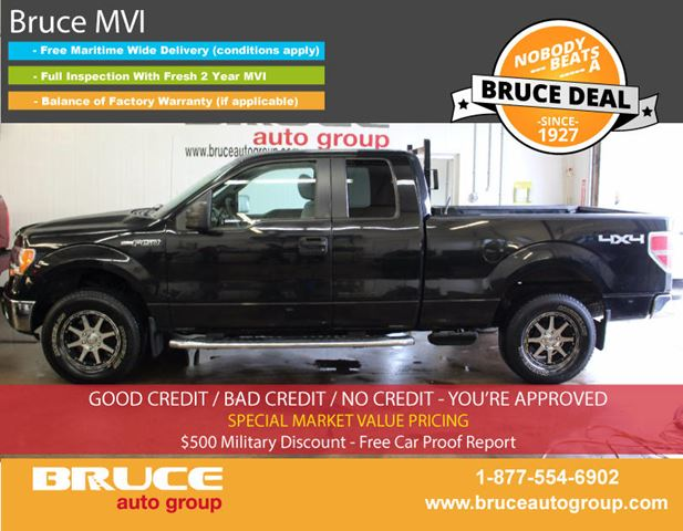 2011 Ford F-150 XLT 5.0L 8 CYL AUTOMATIC 4X4 SUPERCAB in Middleton, Nova Scotia