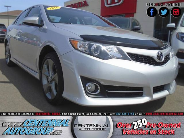 2012 Toyota Camry SE in Summerside, Prince Edward Island