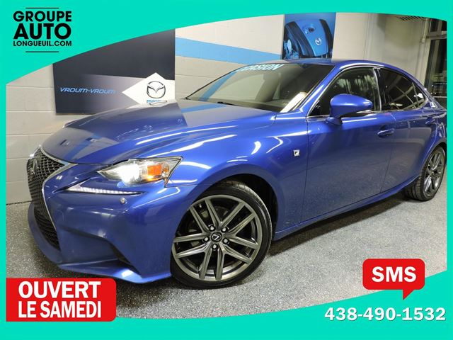 2014 Lexus IS 250 F- SPORT AWD SERIE 2 GPS in Longueuil, Quebec