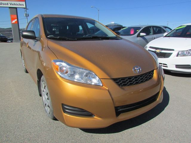 2010 Toyota Matrix 4dr Wgn Auto FWD in Corner Brook, Newfoundland And Labrador