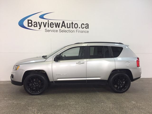 2012 Jeep Compass - ALLOYS! REM START! HEATED SEATS! A/C! UCONNECT! in Belleville, Ontario