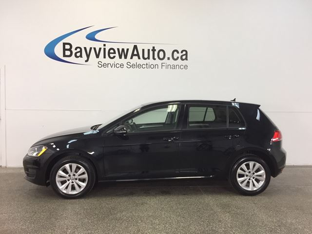 2015 Volkswagen Golf COMFORTLINE- TSI! ROOF! TINT! REV CAM! BLUETOOTH! in Belleville, Ontario