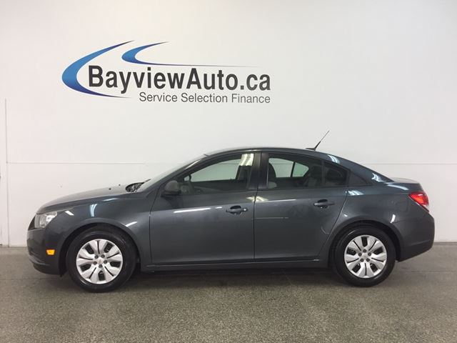 2013 CHEVROLET CRUZE LS- AUTO! A/C! ON STAR! LOW KM! GAS BUDDY! in Belleville, Ontario