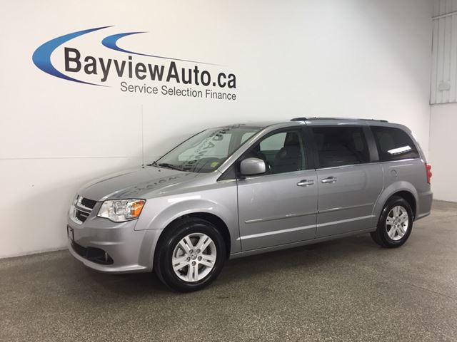 2016 Dodge Grand Caravan CREW- STOW 'N GO! 3 ZONE CLIMATE! CRUISE! A/C! in Belleville, Ontario