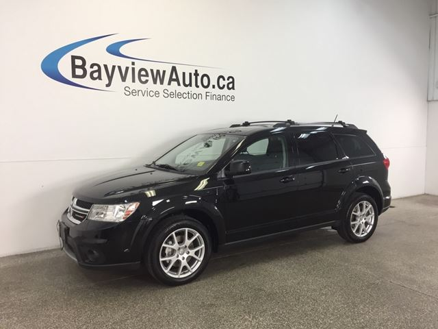 2016 Dodge Journey LTD- DVD! REM START! SUNROOF! 7 RIDER! REV CAM!  in Belleville, Ontario