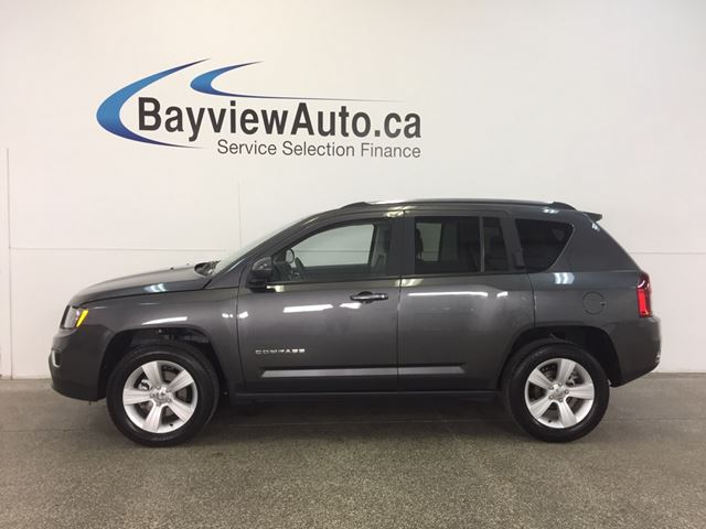 2016 Jeep Compass HIGH ALTITUDE- 4x4! SUNROOF! LEATHER! U-CONNECT! in Belleville, Ontario