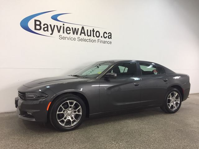 2016 Dodge Charger SXT- AWD! ALLOYS! SUNROOF! ALPINE! HEATED SEATS! in Belleville, Ontario