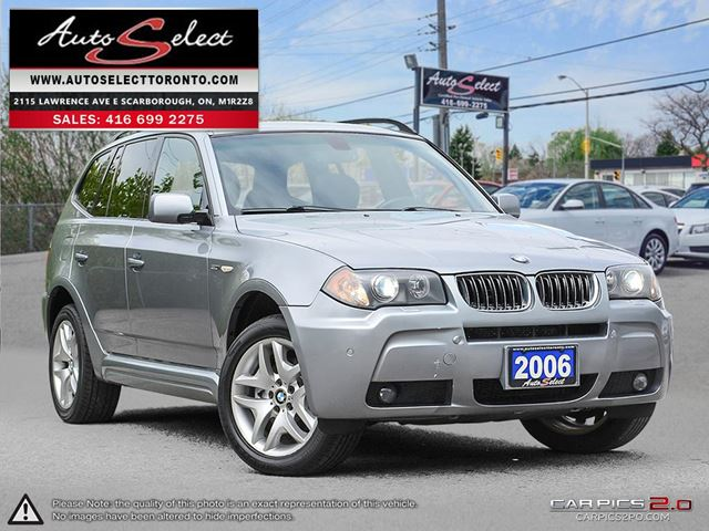 2006 BMW X3 xDrive AWD **M SPORT PKG** ONLY 216K! **PANORAMIC ROOF** in Scarborough, Ontario