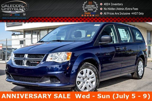 2017 Dodge Grand Caravan SE/SXT in Bolton, Ontario