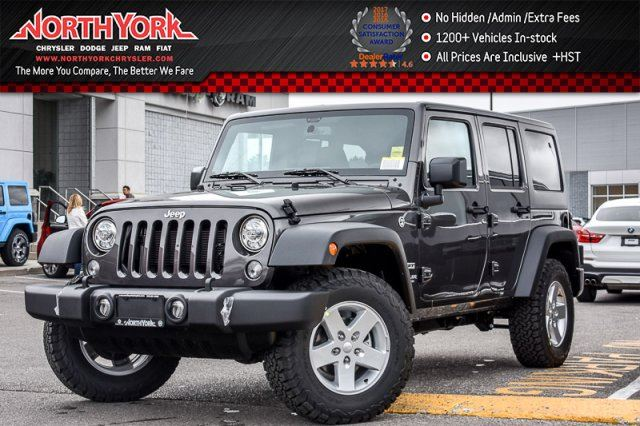 2017 Jeep Wrangler Unlimited Sport in Thornhill, Ontario