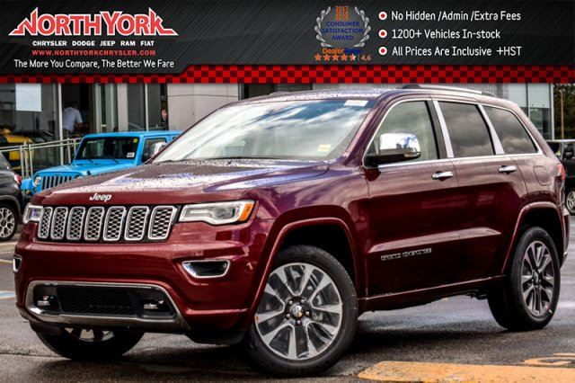 2017 Jeep Grand Cherokee Overland in Thornhill, Ontario