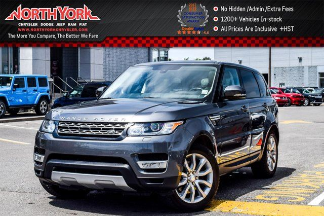 2014 Land Rover Range Rover Sport HSE 4x4 LuxuryPkg Sunroof Nav BackUpCam 20Alloys  in Thornhill, Ontario