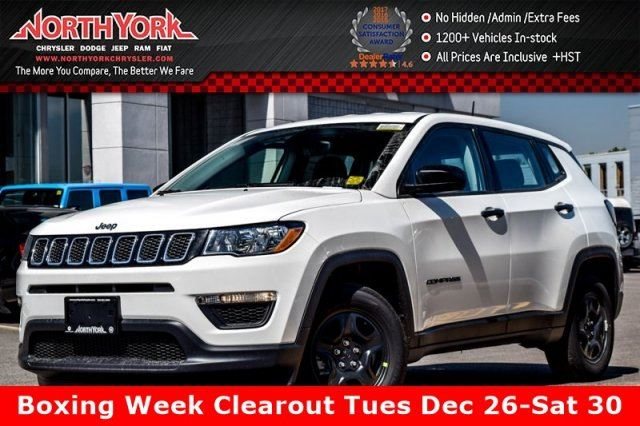 2017 Jeep Compass Sport in Thornhill, Ontario