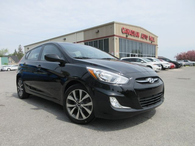 2017 Hyundai Accent SE, ROOF, ALLOYS, BT, HTD. SEATS, 17K! in Stittsville, Ontario